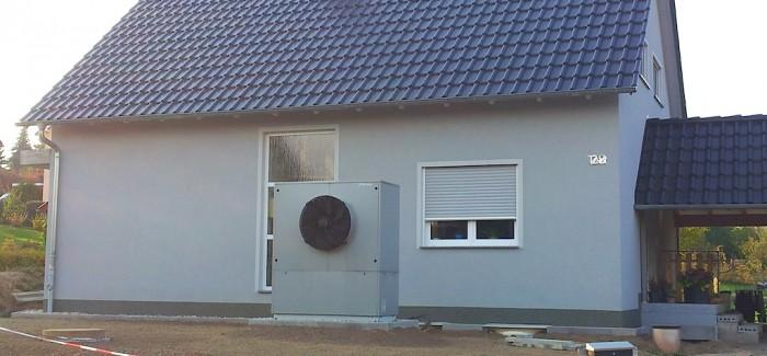 Luft / Wasser – Wärmepumpe